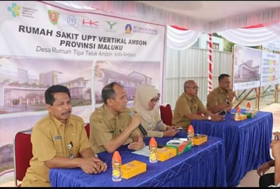 Gubernur Kunjungi Lokasi RSP Terpadu Vertikal di Waelela