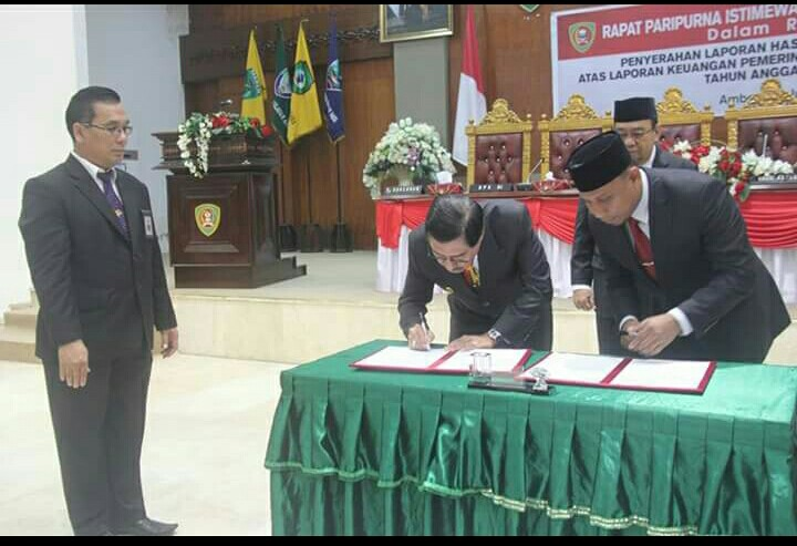 Pemprov Maluku Kembali Raih WTP Dari BPK RI