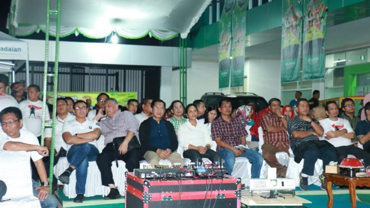 Pegadaian Kanwil VI Makassar Gelar Nonton Bola Bersama