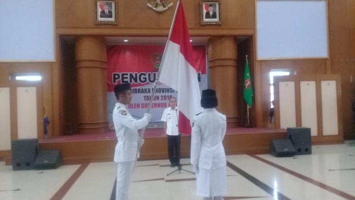 54 Anggota Paskibraka Maluku Dikukuhkan