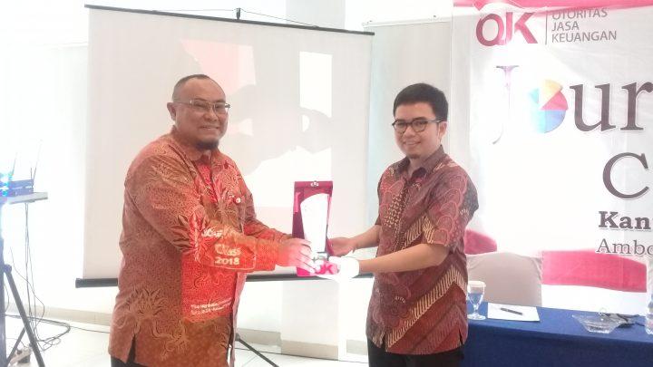 OJK Maluku Gelar Gathering Wartawan