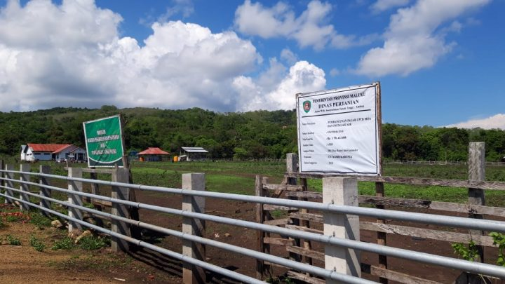 Tim Kejati Maluku Periksa Proyek Pagar UPTD Moa