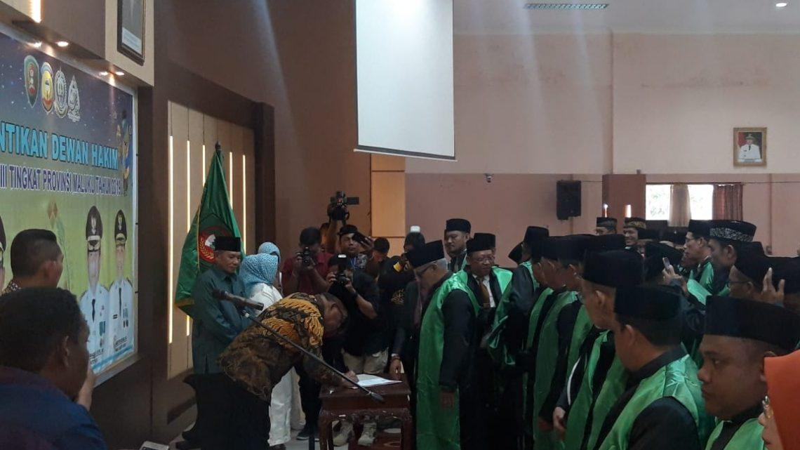 Gubernur Lantik dewan hakim MTQ Tingkat Provinsi ke-28