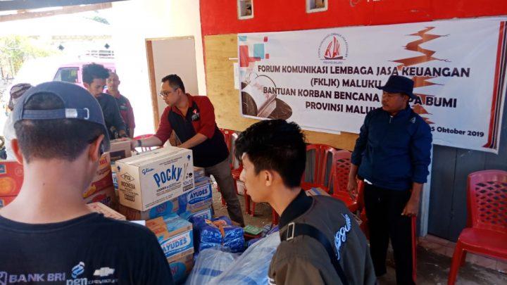 Peduli Korban Gempa Bumi, OJK dan LJK Sambangi Ribuan Pengungsi