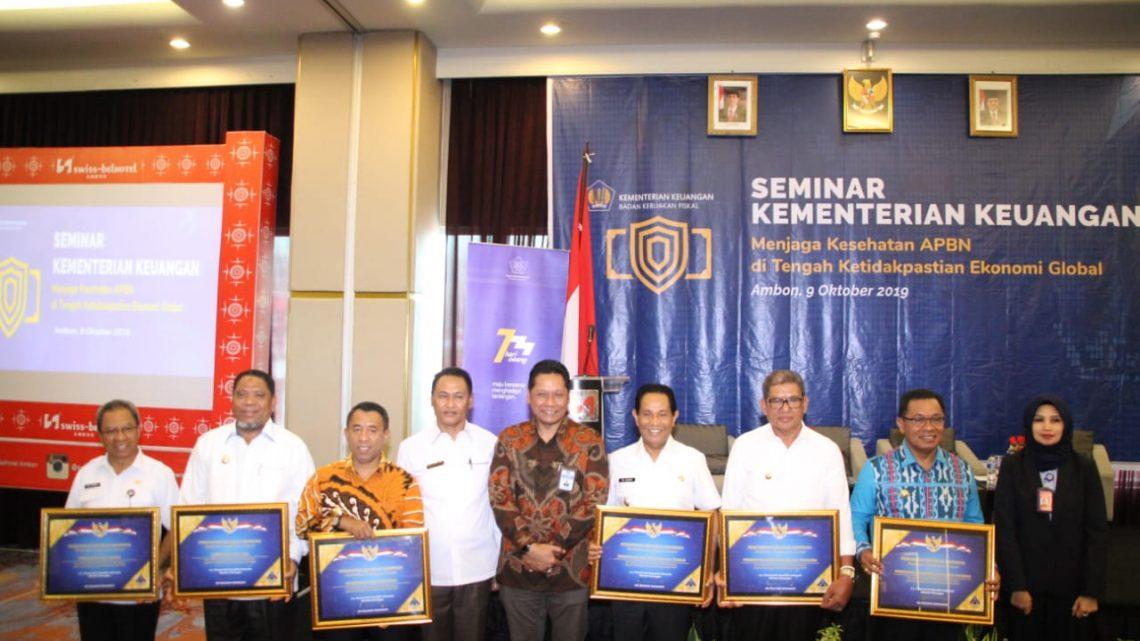 Enam Kabupeten/Kota di Maluku Terima Opini WTP