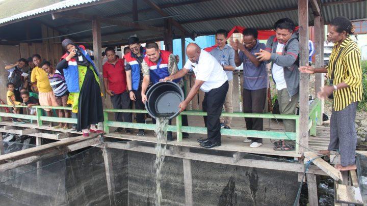 Pertamina Lanjutkan Program CSR Budidaya Ikan Air Tawar