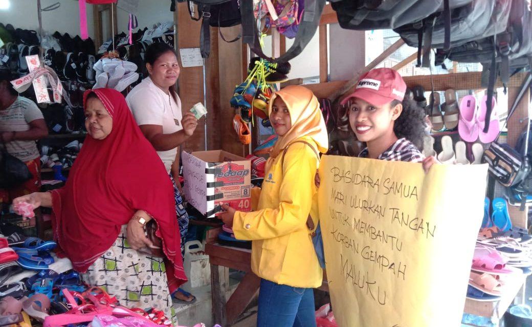 Mahasiswa UT Bursel Galang Dana  Bagi Korban Gempa Ambon