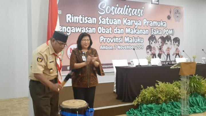 Enam Kwarcab Pramuka Rintis Pembentukan SAKA POM di Maluku