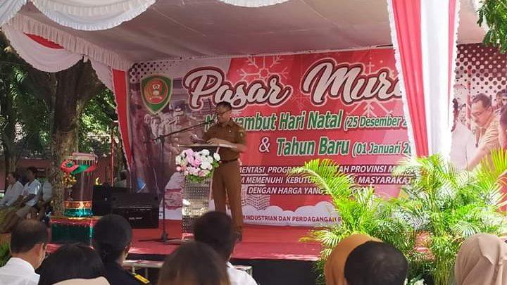 Pemprov Maluku Gelar Pasar Murah Jelang Natal