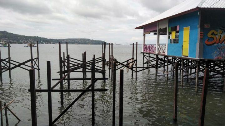 Jembatan Wisata Mangrove Desa Negeri Lama, Dukung Visit Ambon 2020
