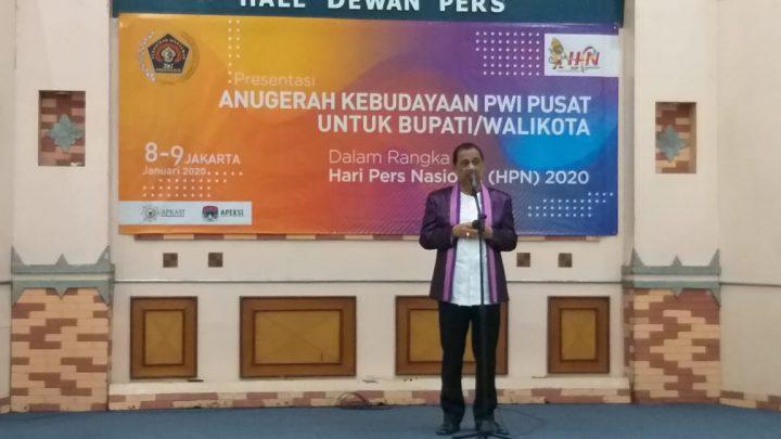 """Kota Musik"""" Jadi Materi Presentasi Walikota di PWI Pusat"""