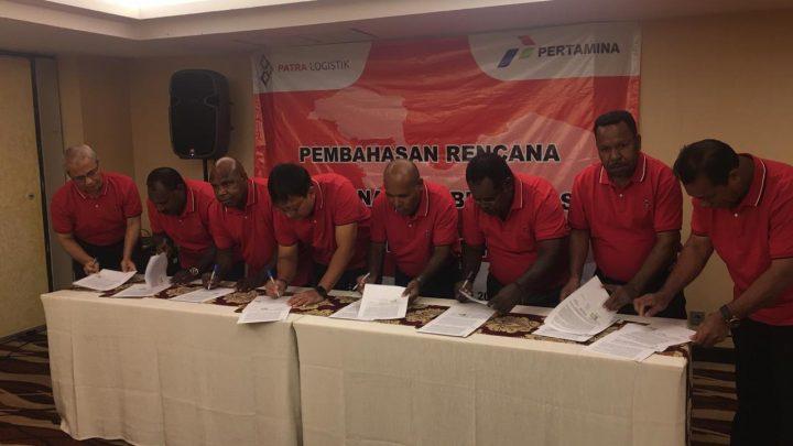 Pertamina Dorong Pembangunan Jobber dan SPBU di Wilayah Pegunungan Tengah Papua