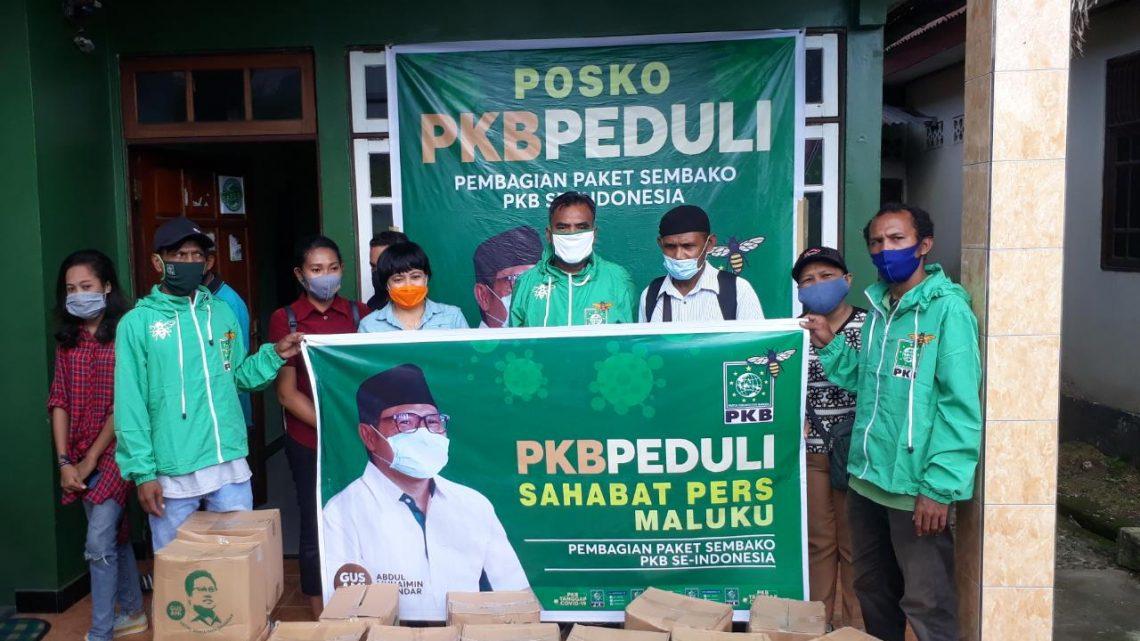 Aksi Peduli Ketum DPP PKB, Gus Muhaimin Bersama Insan Pers Maluku