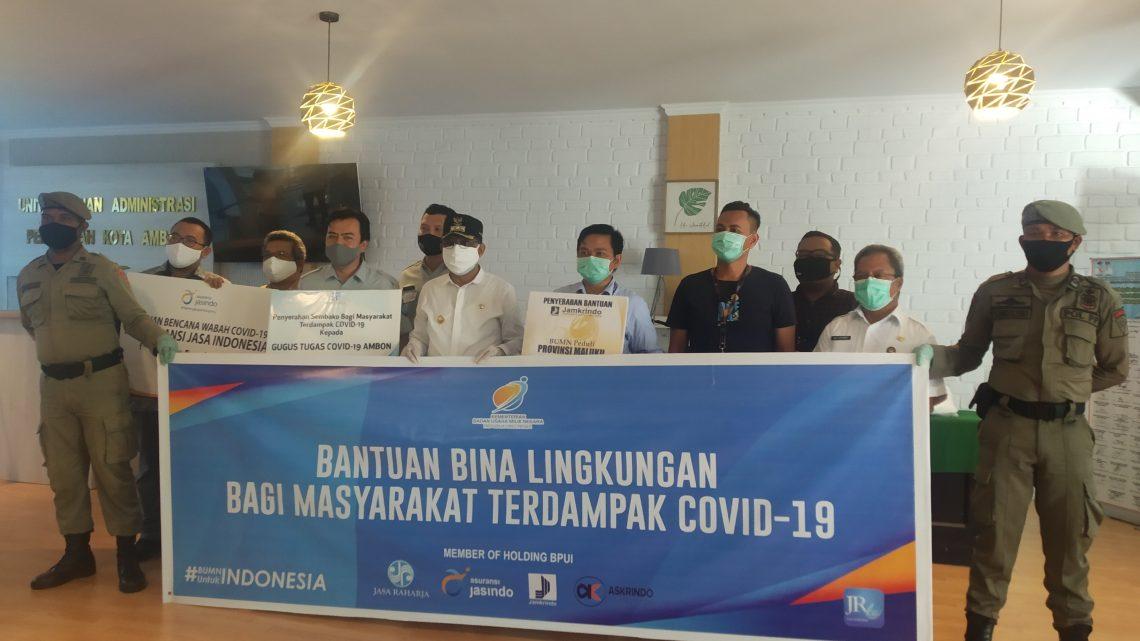 PT Bahana Pembinaan Usaha Indonesia Salurkan Bantuan Penanganan Covid