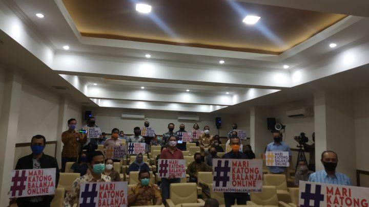 Bank Indonesia-Pemkot Ambon Luncurkan Gerakan Mari Belanja Online