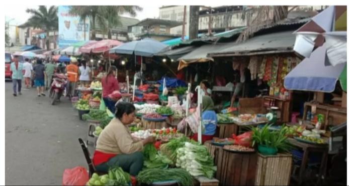 Pasar Mardika Jadi Percontohan Penerapan New Normal