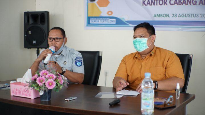 Jasa Raharja Maluku Sosialisasi Pelayanan Kepada Mitra BPJS Kesehatan