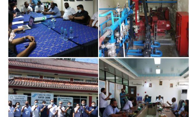 Komisi II DPRD Kota Ambon Tinjau ABT Sejumlah Perusahan Besar