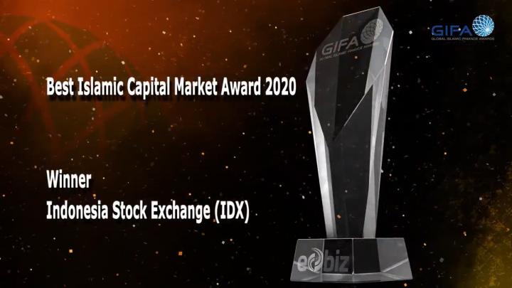 BEI Sabet Penghargaan The Best Islamic Capital Market pada GIFA 2020