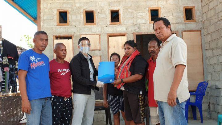 Korban Kecelakaan di Trans Yamdena- KKT Terima Santunan Jasa Raharja