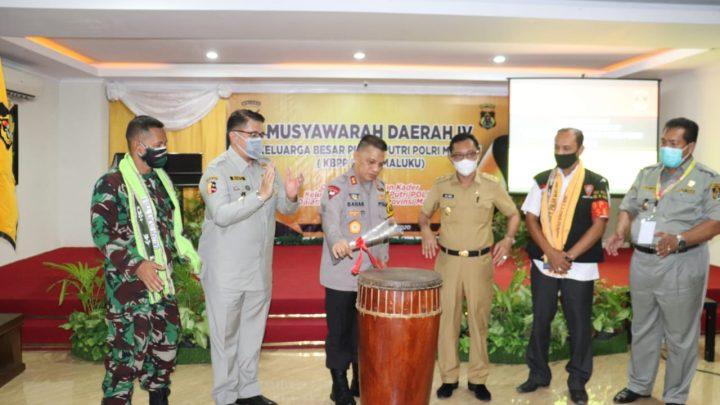 Pembukaan Musda IV KBPP Polri, Dihadiri Wagub Maluku