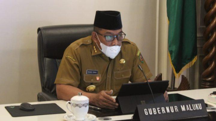 Gubernur Maluku Menetapkan Dua Sekda sebagai Plh Bupati