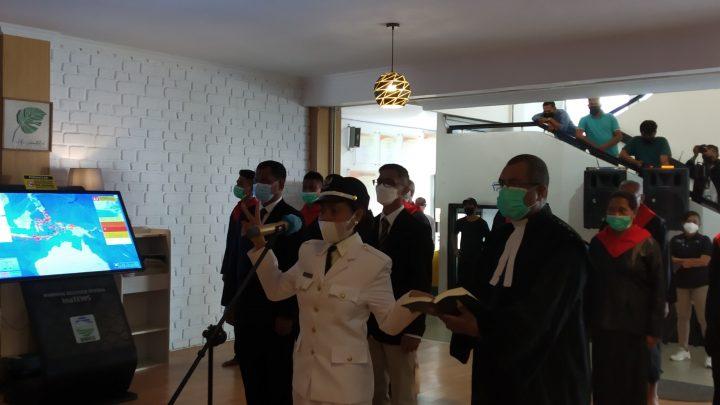 Walikota Ambon Lantik Leimena Jadi Kepala Pemerintah Negeri Ema