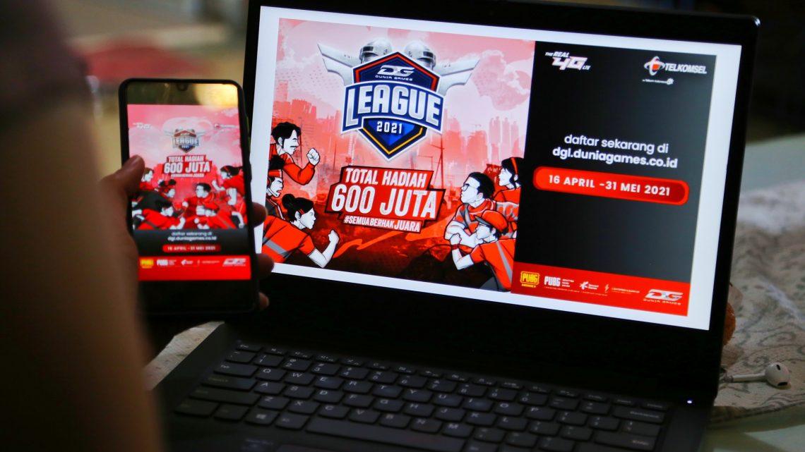 Telkomsel Gelar Dunia Games League 2021