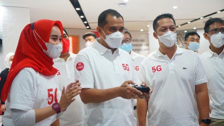 Layanan 5G Pertama di kota Makasar
