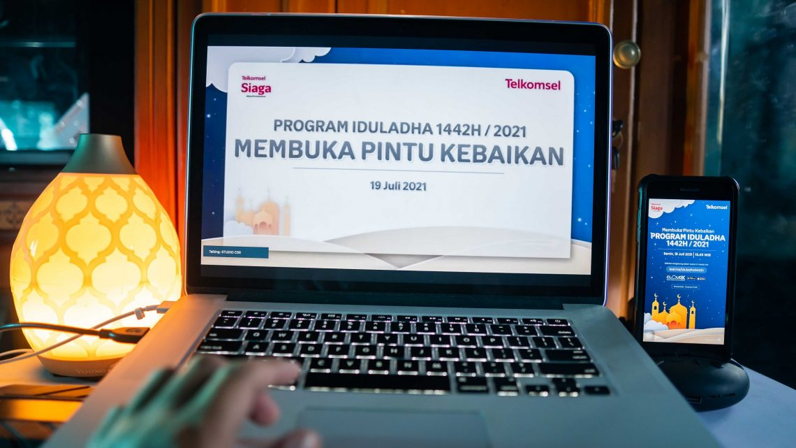 Telkomsel Salurkan Hewan Kurban Hingga ke Pelosok Negeri, Maluku Kebagian 22 Ekor