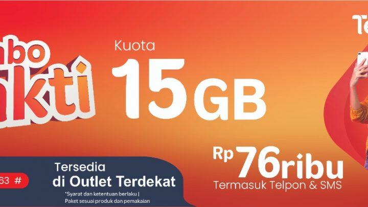 Paket Combo Sakti Telkomsel,  Hadirkan Kuota Internet, Telepon, dan SMS